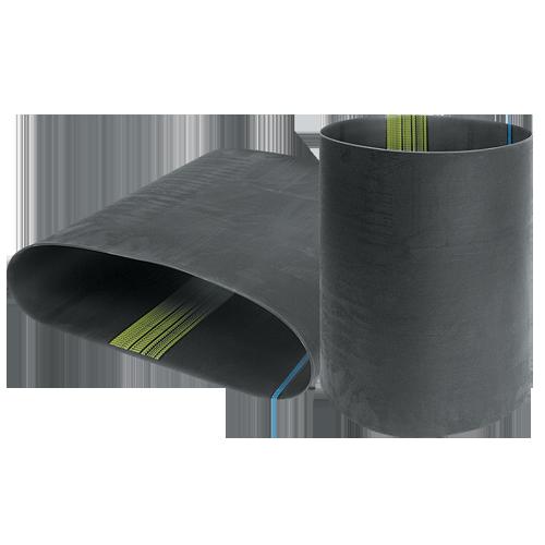 Multi rib belts pv rubber ribbed