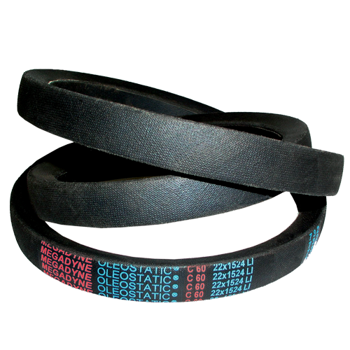 V-belts Rubber Wrapped OLEOSTATIC