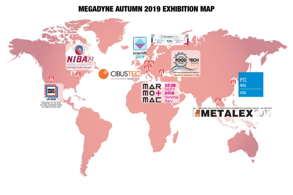 Where Megadyne Is Exhibiting This Autumn
